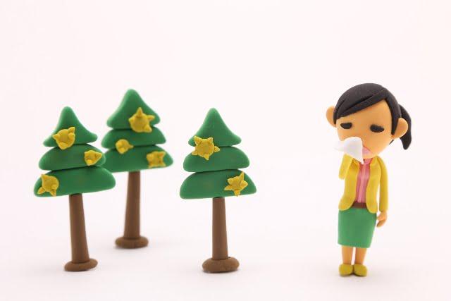 花粉症の時期や種類ピーク2018