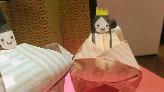 ひな祭りの折り紙の折り方