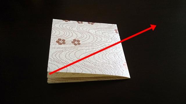 ひな祭りの折り紙ぼんぼり編3
