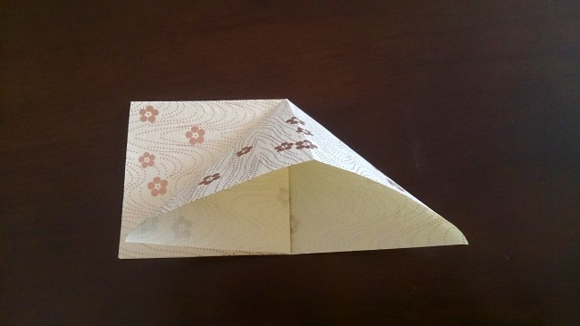 ひな祭りの折り紙ぼんぼり編4
