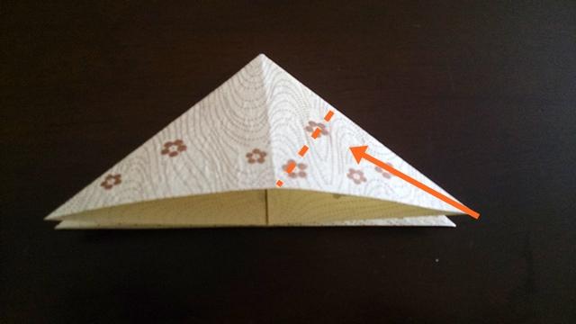 ひな祭りの折り紙ぼんぼり編5