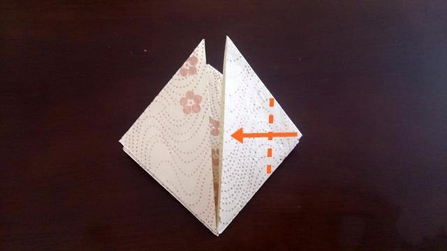 ひな祭りの折り紙ぼんぼり編8
