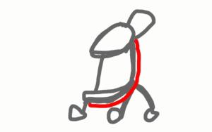 ベビーカー 照り返し防止シート 作り方