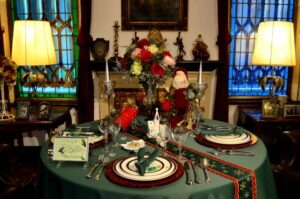 クリスマスパーティー テーブル
