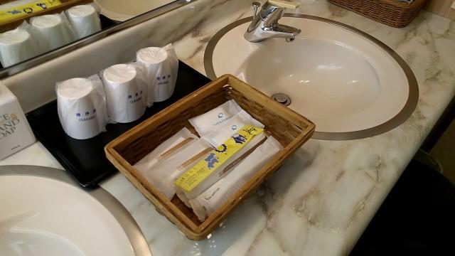 ホテル瑞鳳 洗面所