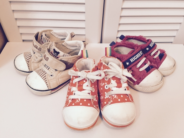 保育園 靴 名前