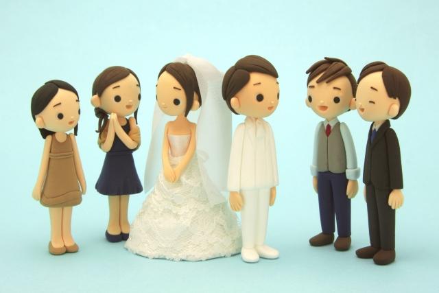 台風 結婚式